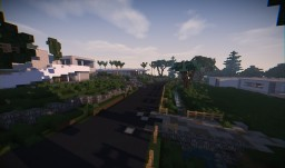 Part of Modern Residential Area Minecraft Project