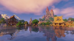Beautiful fantasy kingdom [NOW DOWNLOAD] Minecraft Project