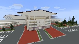 """International Exhibition Centre"" Eurovision 2017 Ukraine, Kiev in minecraft Minecraft Map & Project"