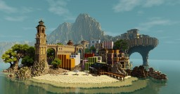 Beach resort Minecraft Project