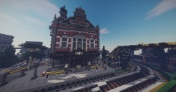 Steampunk Train Station Minecraft Project