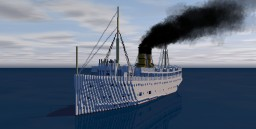 SS Eastland 4:1 ~ 1909 Version ~ 102nd Anniversary of the Sinking ~ Download Minecraft Project
