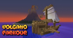 Volcano Parkour Minecraft Map & Project