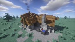 Medieval Blacksmith + DOWNLOAD Minecraft Project