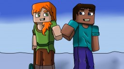 STEVE & ALEX SPEED ARTE Minecraft