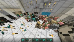 The Zombie building  ( zombie's home ) hardest zombie challenge ever Minecraft Project