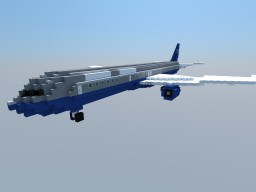 Boeing 757-222 United Airlines (Memorial plane) Minecraft Map & Project