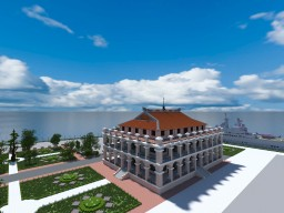Nha Rong Harbor – Ho Chi Minh Museum in Ho Chi Minh city Minecraft Project