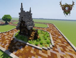 Romping peck of druid houses Minecraft Project