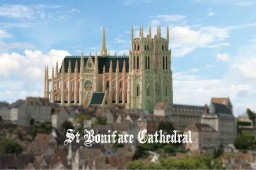 Cathédrale Saint Boniface Minecraft Project
