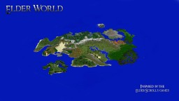 [Creative/Survival] [1.1X] Elder World - Inspired by the Elder scrolls games Minecraft Project