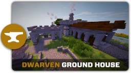 Dwarven Ground House Tutorial Minecraft Map & Project
