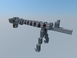 Type 40 LMG and I-39 Assault Rifle Minecraft Project