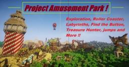 Project Amusement Park ! Minecraft Map & Project