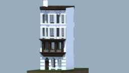 Traditional Row House Minecraft Project