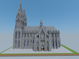 Minecraft Cathedral St Belladona Minecraft Map & Project