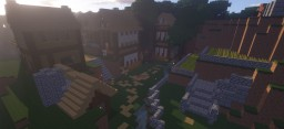 The Town of Chamberlain - Pinchcliffe SMP Minecraft Map & Project