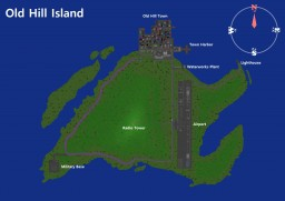 Old Hill Island (Complete) Minecraft Project