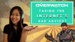 The Best Bad Advice in Overwatch? Minecraft Blog Post