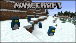 Penguins. Why Penguins should be added to minecraft Minecraft