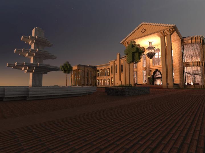 Le Palais Du Ciel - Evening Shot