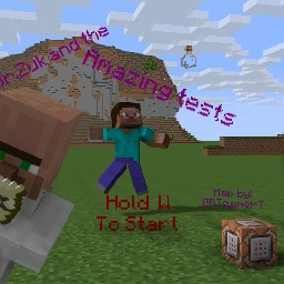 Dr.Zuk and the amazing tests Minecraft Map & Project