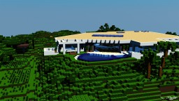 [RENDER C4D] Villa de Notch Minecraft Project