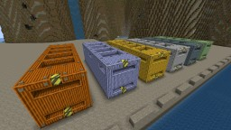 Shipping Containers Version 2 (Modded) Minecraft Project