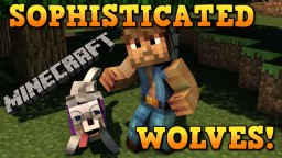 BEST WOLF EVER!  Sophisticated Wolves Mod Showcase! Minecraft Blog Post