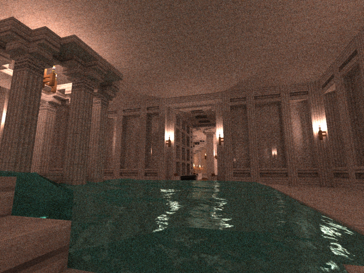 Le Palais Du Ciel - Marble Indoor Pool and Roman Bath