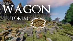 MEDIEVAL WAGON TUTORIAL Minecraft Map & Project