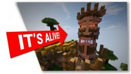 Tiki Totem House Minecraft Map & Project