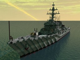 Northern class destroyer Minecraft Map & Project