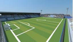 Rujevica Stadium Minecraft