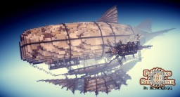 =Steampunk Airship=  CACHALOT, Ship of Frontier Guard Minecraft Map & Project