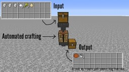 Minedeas 2 | Automatic crafting tables (idea) Minecraft Blog Post