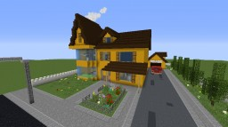 house yellow big Minecraft Map & Project