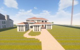 Mediterranean Mansion Minecraft Map & Project