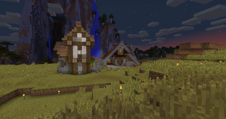 A house a user built.