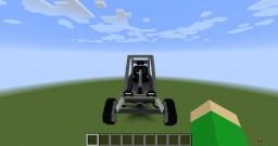 420cc 13HP Mini Sand Rail Massive Scale Minecraft Map & Project