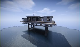 Oil Platform House Minecraft Map & Project
