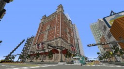 Traditional Hotel in Bluff City Minecraft Project