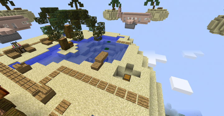 Island And A Mid Minecraft Map