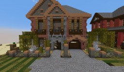 City House / Victorian House #3 Minecraft Map & Project