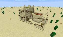 Schematic: Desert Medium House, 3 Dwellings Minecraft