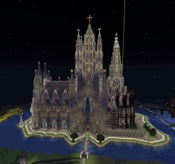 Sagrada Familia Cathedral Minecraft Project