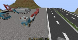 Special transport truck and trailer Minecraft Project