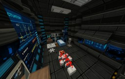 - X - Scifi Horror Map For Custom NPC'S 1.10.2 DEMO Minecraft