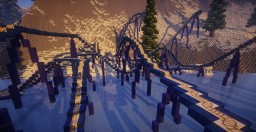 Shockwave - 100% Functional Semi-Realistic Steel Coaster Minecraft Project