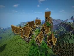 SteamPunk Village Minecraft Project
